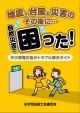 20160606 広報課上沼職員>「天災等罹災後のトラブル解決ガイド」表紙画像